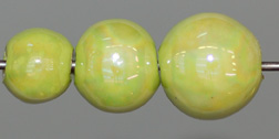 Chartreuse Beads